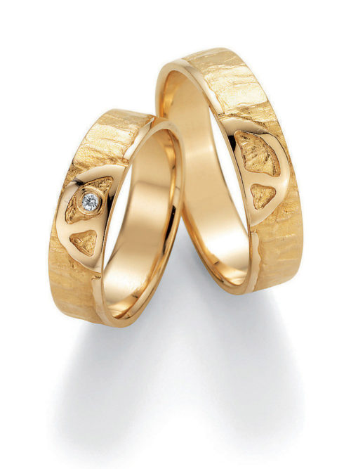 jmonds Eheringe Gelbgold Signs of Love Peace 1
