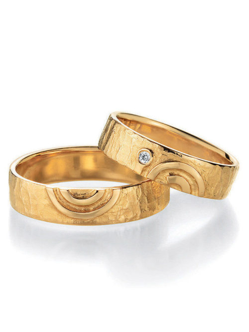 jmonds Eheringe Gelbgold Signs of Love Spiral 1