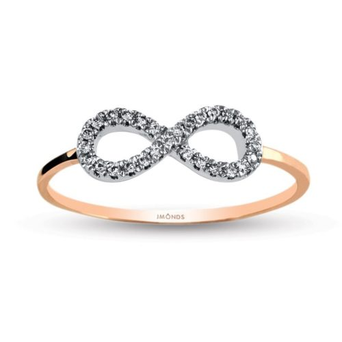 jmonds Rosegold Ring Infinity 1