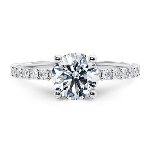 "jmonds Verlobungsring ""Klassiker 4"" Platin Brillant: 1 ct. GIA plus 0,14ct 1"