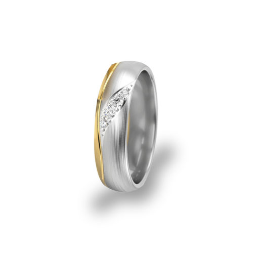 jmonds Jmonds  Ehering Gold Waves - Einzel Ring 1